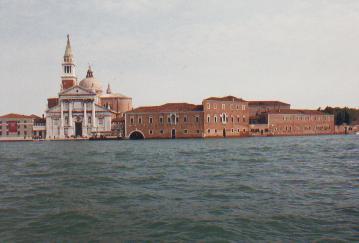 威尼斯本岛上的居民为了逃避异族的迫害